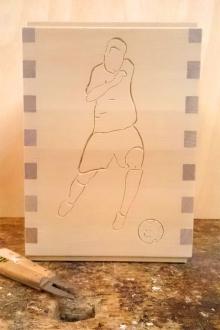 Sonderanfertigung-Fussballspieler